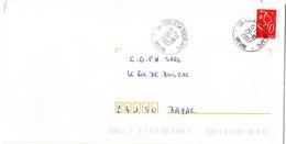 NIEVRE - Dépt N° 58 = SUILLY LA TOUR 2007  = CACHET MANUEL Codé A9 APC /  Agence Postale Communale - Bolli Manuali