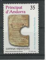Andorre Espagnol - 2000 - N° 267 ** - Nuovi