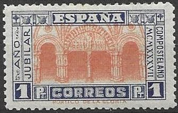 Spain Mh * 1937 50 Euros - 1931-50 Unused Stamps