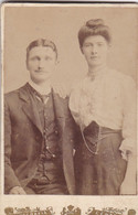 """¤¤  -  CHILI -  Carte De Visite D'un Couple En 1906  -  Photographe """" G. Lopez """" De Santiago  - Voir Description  -  ¤¤ - Chile"""