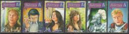 ALDERNEY, 2006 KING ARTHUR LEGEND 6 MNH - Alderney