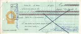 Portugal , 1971 , Letra , Bill Of Exchange ,  Tax 50$00 , Embossed Seal , Brazão Pinto & Cª Commercial Stamp  Porto - Letras De Cambio