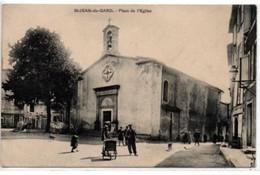 St-Jean-du-Gard-Place De L'Eglise - Saint-Jean-du-Gard