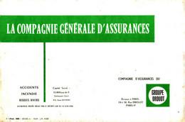 B&A / 13/04/ Buvard La Compagnie Générale D'Assurance  (N=1) - Bank & Insurance