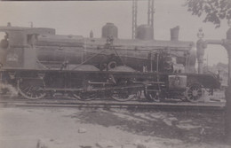 ¤¤  -  Carte-Photo D'une Locomotive Du P.L.M.  -  Chemin De Fer   -  ¤¤ - Equipment