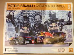 Sport Mécanique, Affiche 60x80cm, AFFICHE POSTER FORMULE 1, Grand Prix Du Bresil 2010, Moteur Renault: Champion Du Monde - Posters