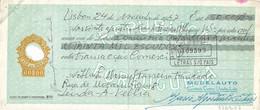Portugal , 1971 , Letra , Bill Of Exchange ,  Tax 60$00 , Damage Embossed Seal , Banco Português Do Atlântico  Porto - Letras De Cambio