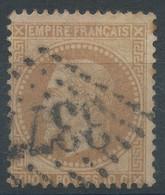 Lot N°60527   N°28A, Oblit GC 3377 Senones, Vosges (82), Ind 4 - 1863-1870 Napoléon III Con Laureles