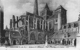 22 TREGUIER - Abside De La Cathédrale - Tour D'Hastings Et Le Cloître - Tréguier