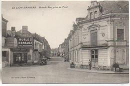 49 LE LION-D'ANGERS  Grande Rue Prise Du Pont - Altri Comuni