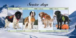 Liberia 2020 Fauna  Service Dogs     S202102 - Liberia