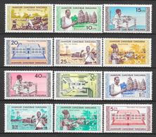 Zanzibar N° 328/39 YVERT NEUF * - Zanzibar (1963-1968)