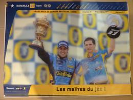 Affiche 60x80cm, AFFICHE POSTER FORMULE 1, Grand Prix De Grande Bretagne 2006, Les Maitres Du Jeu - Posters