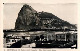 CPA - GIBRALTAR - The Rock From SPAIN ... - Gibraltar