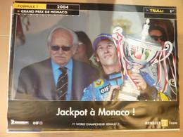 Affiche 60x80cm, AFFICHE POSTER FORMULE 1, Grand Prix 2004, Jackpot à MONACO, Prince RAINIER III - Posters