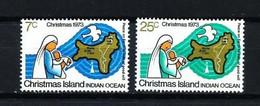 Christmas Nº 59/60 Nuevo - Christmas Island