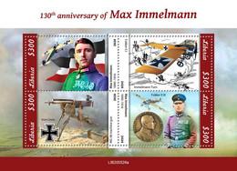 Liberia 2020   Max Immelmann, World War I   S202102 - Liberia