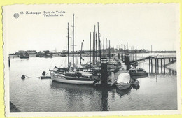 2643 - BELGIE - BELGIUM - ZEEBRUGGE - YACHTHAVEN - PORT DE YACHTS - MARINA - Zeebrugge