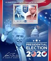 Liberia 2020   USA  Presidential Election 2020 (Joseph R. Biden Jr; Donald J. Trump)  S202102 - Liberia