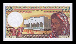 Comores Comoros 500 Francs 1984-2004 Pick 10b(1) SC UNC - Comoros