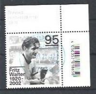 ALEMANIA 2020 - MI 3568 - Fritz Walter - Gebraucht
