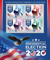 Liberia 2020   USA  Presidential Election 2020 (Joseph R. Biden Jr; )  S202102 - Liberia