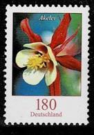 Bund 2014,Michel# 3082 R ** Blumen:Schwertlilie Mit Nr. 175 - Rollenmarken