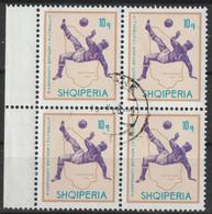 Albanië  Y/T 861 (0) In Blok Van 4. - Albania