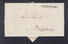 Falthülle Ratzeburg 1835 - [1] Voorlopers