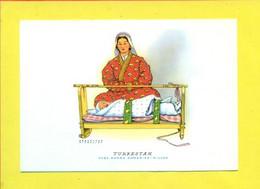 FOLK- MATERNITA' -CASA MAMMA DOMENICA - TURKMENISTAN - Turkmenistan