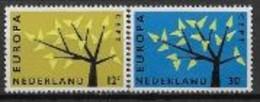 Pays Bas 1962 Neufs ** N° 758/759 Europa - 1962