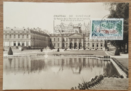 CM 1966 - YT N°1483 - REUNION DE LA LORRAINE ET DU BARROIS A LA FRANCE - LUNEVILLE + Flamme - 1960-69