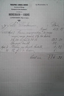 G 26 Facture/document Entete Plomberie  à La Poitevinière - Agricultura