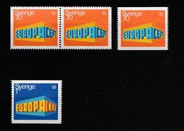 Schweden - 1969 - Mi. 634/635 ** (2081) - Unused Stamps