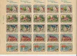 C4285/ Baustein Für Schulen In Nordschleswig  Heimatbund  Marken 1952 - Unclassified