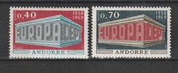 Andorra (fr.) - 1969 - Mi. 214/215 ** (2082) - Ungebraucht