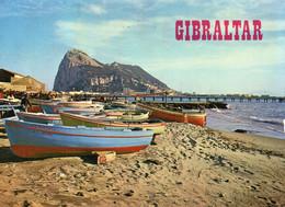 Gibraltar From Spain.postcard Posted 1980. #BBX23 - Gibraltar