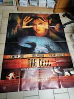 AFFICHE CINEMA     THE CELL   JENNIFER  LOPEZ   ( 120 CM X 160 CM ) - Posters
