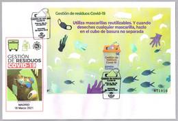 GESTION DE RESIDUOS COVID-19 - COVID-19 WASTE MANAGEMENT. FDC Madrid 2021 - Enfermedades