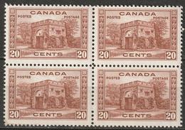 Canada 1938 Sc 243  Block MH*/MLH* - Nuevos