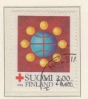FINLAND USED MICHEL 947 Rotes Kreuz: Friedensarbeit - Used Stamps