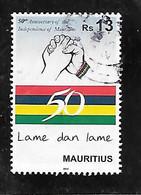 TIMBRE OBLITERE DE MAURICE DE 2018 - Mauritius (1968-...)