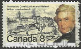 Canada. 1974 William Merritt Commeemoration. 8c Used. SG 797 - Gebraucht