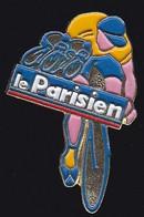 70507-Pin's.Cyclisme.journal Le Parisien.Presse. - Cycling