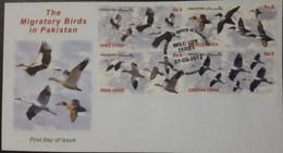 FDC PAKISTAN-  Migratory Birds In Pakistan  - 2012 - Pakistan