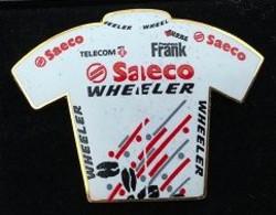 CYCLISME - VELO - BIKE - CYCLISTE - MAILLOT EQUIPE SAECO - WHEELER - TEAM - TELECOM - EGF- FRANK -    (18) - Cycling