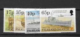 1995 MNH Falkland Islands Mi 644-47 Postfris** - Islas Malvinas