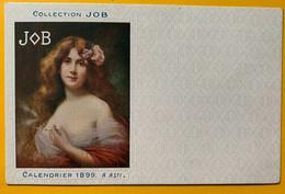 13371 - Collection JOB Calendrier 1899 A. Asti Non Circulée - Otros Ilustradores