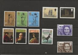 Groot Brittannië 1973 Cricket, Artist, Royal Wedding, Parliament, MH !! - Ungebraucht