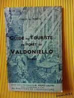 Guide Du Touriste En Forêt De VALDONIELLO (Corse)- N° 19 - Eaux Et Forêts - Tourism